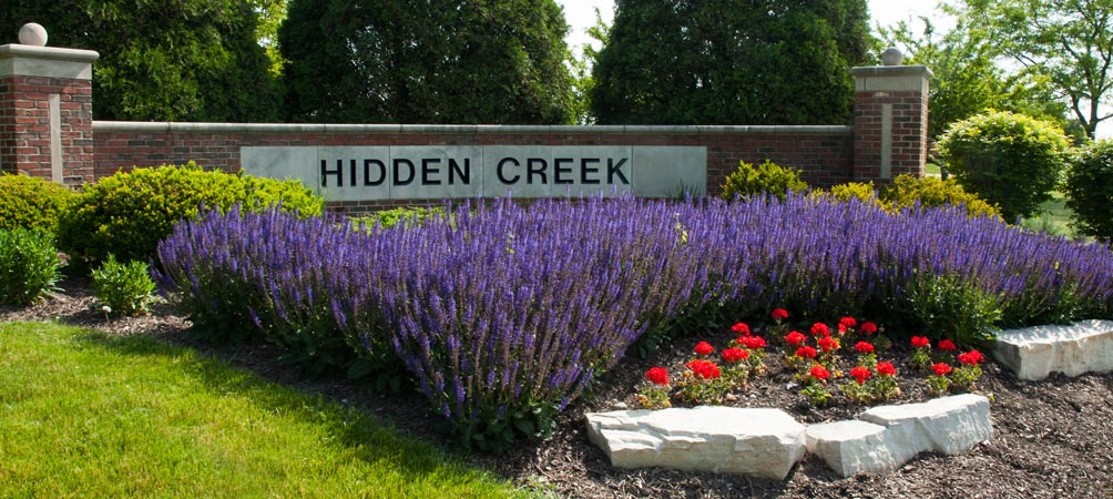Hidden Creek Entry